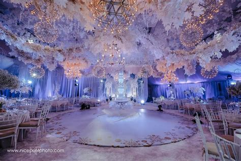 Palazzo Verde   Check out this winter wonderland themed
