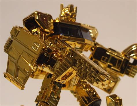 Transformers Gold henkei gold convoy image gallery and review www