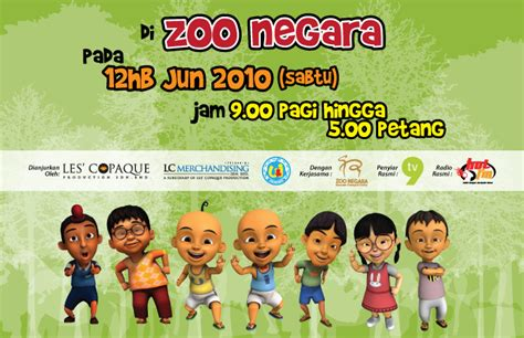 film upin ipin ipin patah kaki jumpa upin ipin di zoo negara hari ini sumijelly weblog