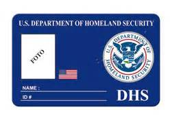 homeland security id card www insigniaspoliciales