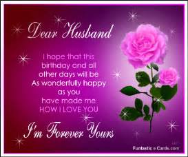 happy birthday in heaven husband happy birthday dear husband ecard has images beautiful roses