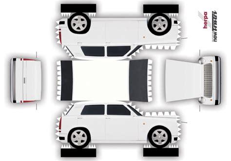 Auto Design Vorlagen Kinder Bastelbogen Quot Trabant Quot