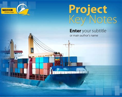 powerpoint themes ships maritime powerpoint template 26283
