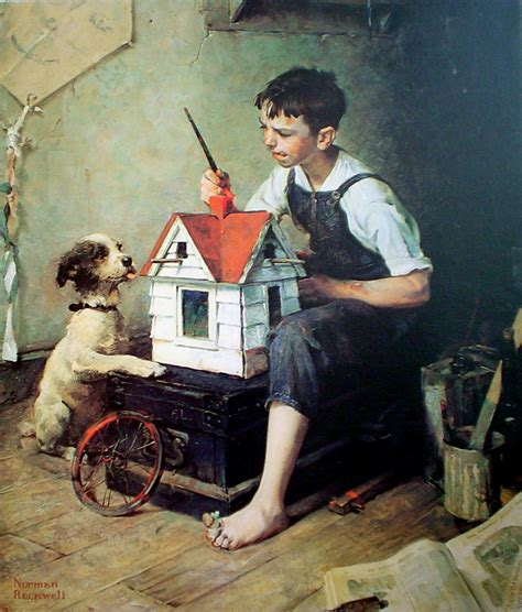 painting the house 1000 images about norman rockwell illustrator henry hy hintermeister on pinterest