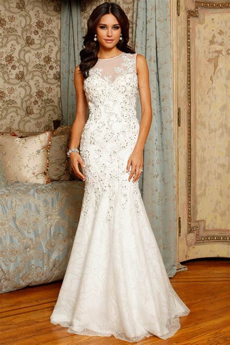 8 Gorgeous Dresses by Gorgeous Sleeveless Mermaid Wedding Dress Sangmaestro