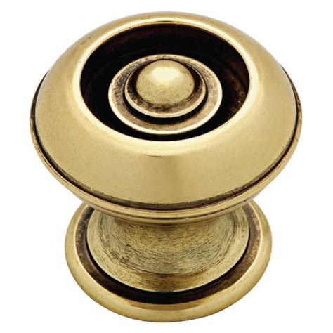 martha stewart living cabinet knobs martha stewart living 1 1 8 in bedford brass button