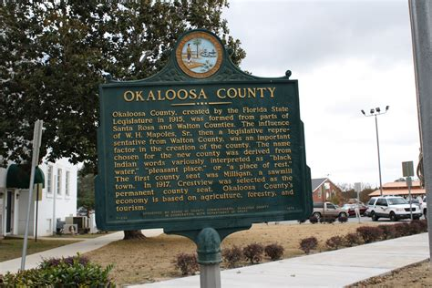 Okaloosa County Search File Crestview Fl Courthouse Okaloosa County Plaque 12 16 2010 1 Jpg