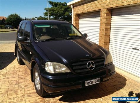 Mercedes Suv For Sale by Mercedes M Class For Sale In Australia