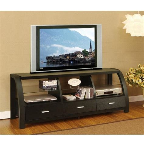 tv cabinet bookcase design ideas with black color