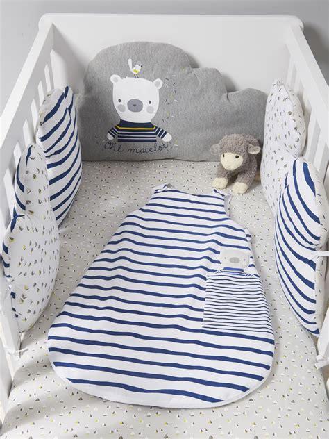 tour de lit marin tour de lit modulable marin plaisir gris blanc lit