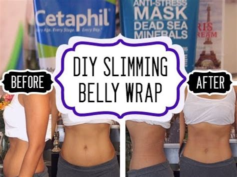Belly Detox Wrap by Diy Slimming Belly Wrap Winners Of Giveaway
