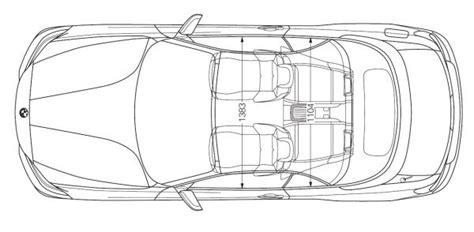 Bmw 1er Cabrio Breite by Bmw 2er Cabrio F23 Abmessungen Technische Daten