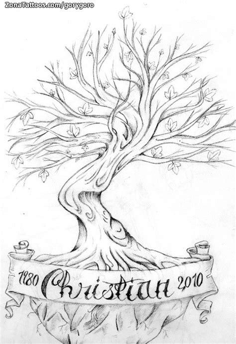 imajenes de tatuajes de arbol genealogico plantillas de tatuajes de arboles imagui