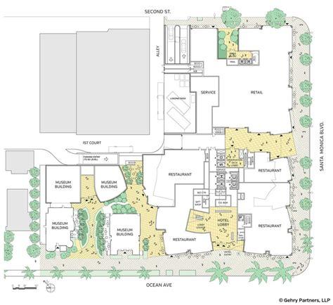 plan com ocean avenue project santa monica e architect