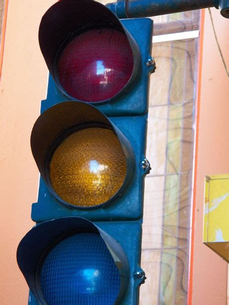 blue lights on traffic signals traffic light free stock photo public domain pictures