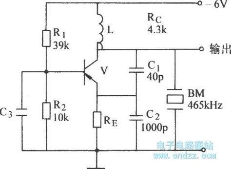 capacitor for oscillator the quartz oscillator with external capacitor oscillator circuit signal processing