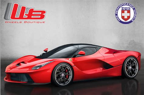 Ferrari Laferrari Rendered On Hre Wheels