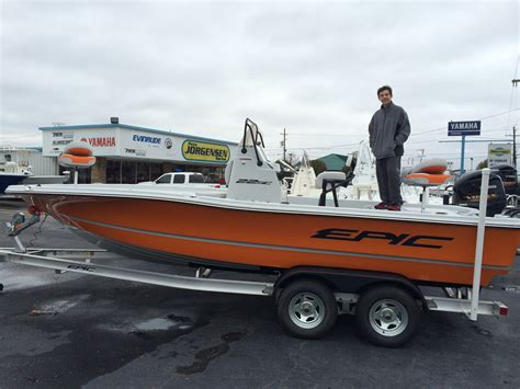 epic bay boats 25sc epic 22sc in orange the color not the town in tx the