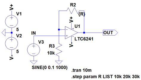 ltspice adjustable resistor 28 images current source design aspects tutorials creating an