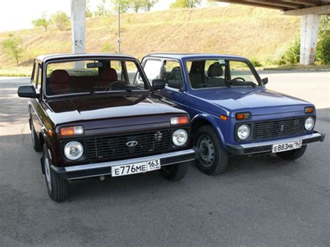 Lada Niva Reliability Top 8 Russian Road Vehicles Extreme4x4 News