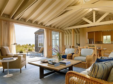 transitional beach house beach style living room san stinson beach house