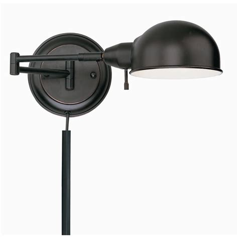 plug in sconces wall ls swing arm wall l ls 16753aged cp destination lighting