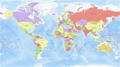 world s high res world map for illustrator by freeworldmaps net