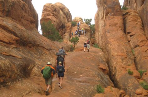 Devils Garden Trail by Partition Arch In Arches National Park Utah Photos And
