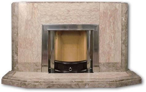 Brown Marble Fireplace by 1950s Or 60s Brown Marble Fireplace Twentieth Century