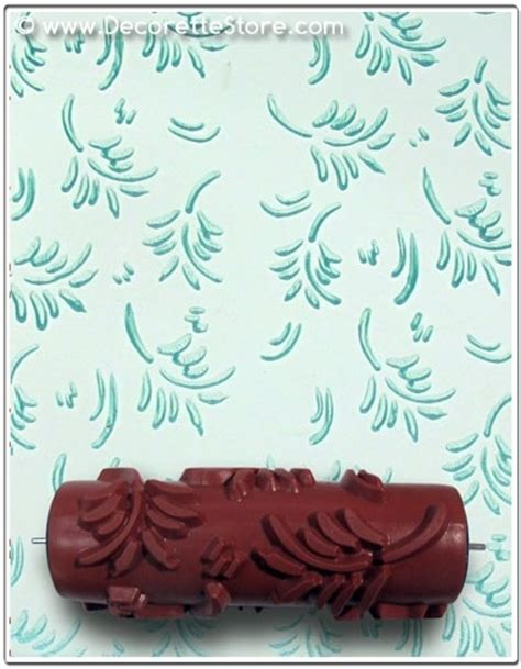 paint rollers with designs patterned paint rollers in gorgeous leaf design