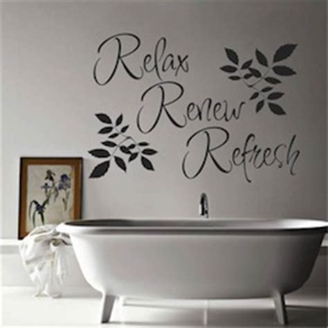 Wall Quotes Bathroom by Bathroom Wall Quotes Quotesgram