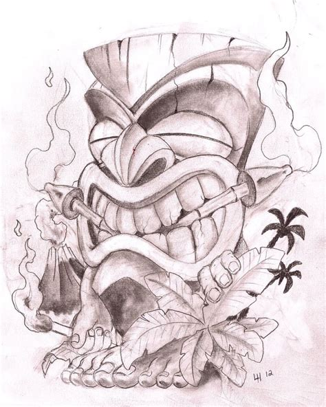 tiki man by mugsysmaster on deviantart