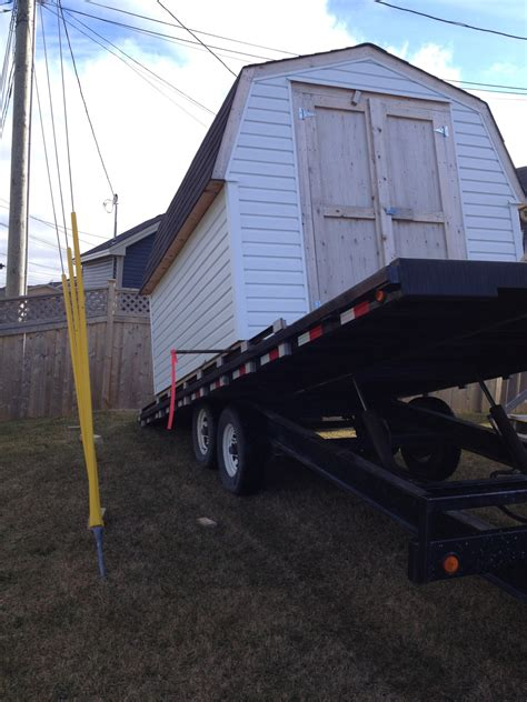 Shed Hauling by Shed Moving