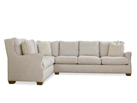 right arm sectional universal furniture curated connor sectional right arm