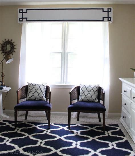 New Window Treatments New Window Treatments Diy Cornice Frame Kit Review