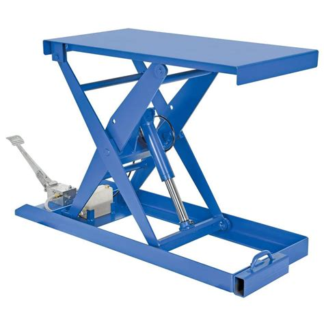 vestil 20 in x 40 in 1000 lb foot scissor lift