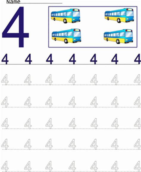 Count And Draw Worksheets by Printable Count Number Worksheet 4 Coloring Worksheets