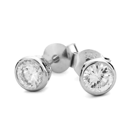 Sterling Silver Studs silver stud earrings jewelry
