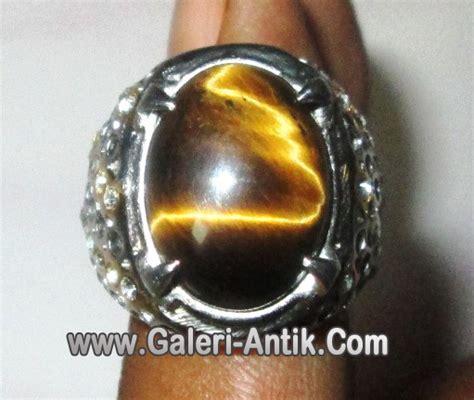Cincin Akik Tiger Eye A batu tiger eye galeri barang antik galeri antik