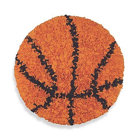 basketball rug buy shaggy raggy basketball rug from bed bath beyond