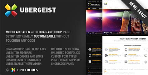 themeforest koncept ubergeist all purpose wordpress themeforest theme