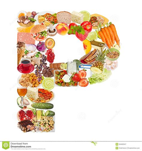 up letter with food letter p made of food stock image image of alphabet