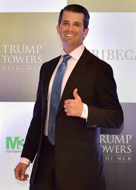 donald trump jr compared to china india substantially india above china for biz trump jr