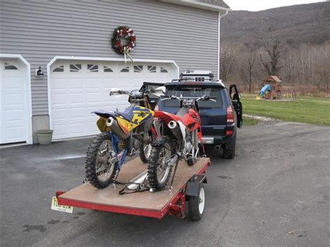 motocross bike trailer show me your open or enclosed motorcycle trailer
