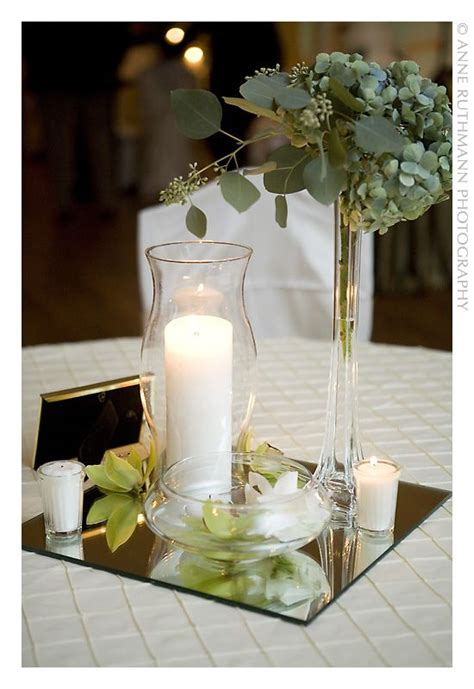 Candle Centerpieces On A Budget Candle In A Hurricane Wedding Candle Centerpieces On A Budget