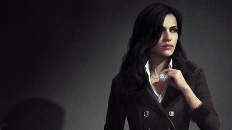 yennefer wallpaper 4k the witcher the witcher 3 wild hunt artwork