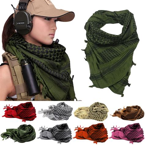shemagh thicken muslim multifunction tactical scarf