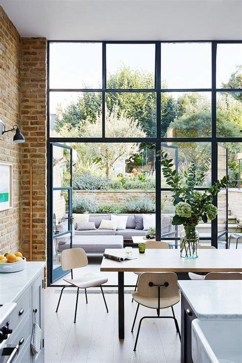 Houses With Big Windows Decor 25 Best Ideas About Large Windows On Pinterest Modern Windows Window Furniture And Dinning