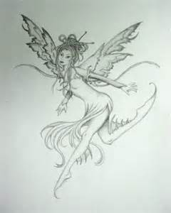 Pics photos easy pencil drawings fairies image search results