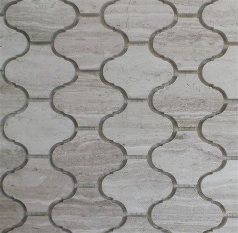 ethens grey wood marble lantern pattern mosaic tile from greece